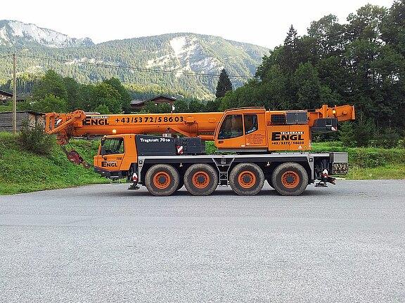 Mobilkran 70 to Engl GmbH